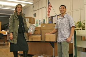 Quincy School Donation
